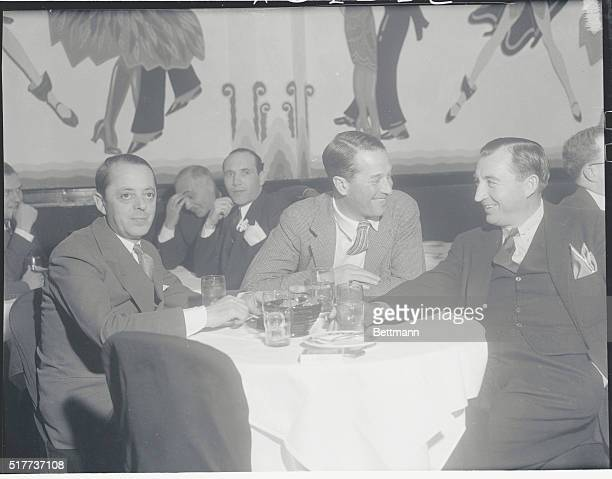 No More Love in His Love Parade Hollywood California Maurice Chevalier romantic lover of the stage and screen says he is finished with lovemaking at...