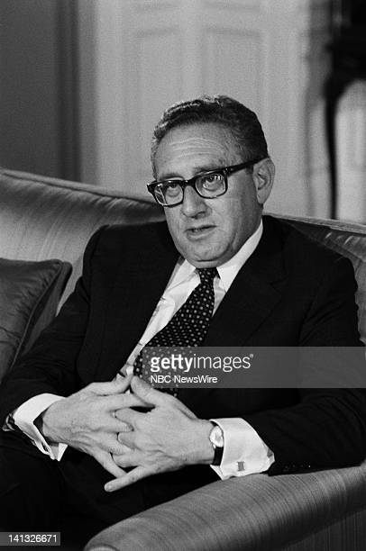 PAPER 'No More Vietnams But an NBC White Paper on Oil and American Power' Air Date Pictured Former US Secretary of State Henry Kissinger Photo by...
