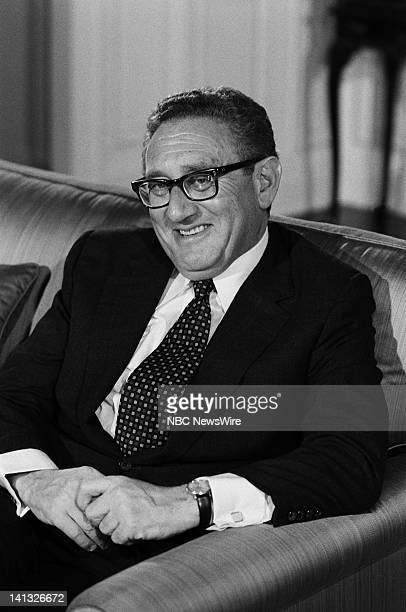 """No More Vietnams, But... An NBC White Paper on Oil and American Power"""" -- Air Date -- Pictured: Former U.S. Secretary of State Henry Kissinger --..."""