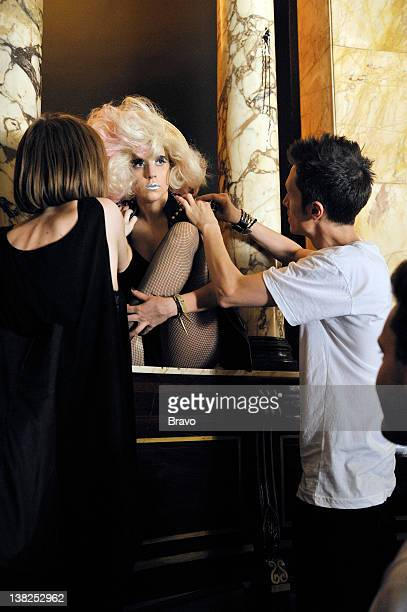 EXPOSURE 'No One Can Work Like This' Pictured unknown Lady Gaga fashion stylist GK Reid