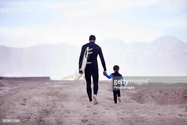 Nunca ninguém s'esquecer da sua primeira surf.