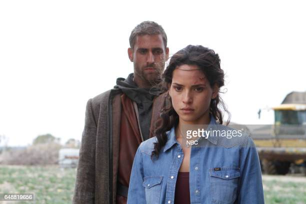 CITY 'No Place Like Home' Episode 110 Pictured Oliver Jackson Cohen as Lucas/Roan Adria Arjona as Dorothy