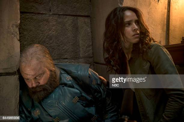 CITY 'No Place Like Home' Episode 110 Pictured Vincent D'onofriio as Wizard Adria Arjona as Dorothy