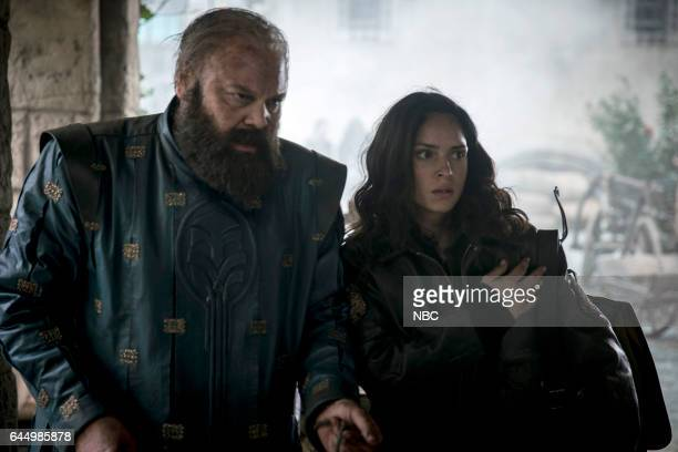 CITY No Place Like Home Episode 110 Pictured Vincent D'onofrio as Wizard Adria Arjona as Dorothy
