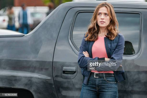 "No Regrets"" Episode 706 -- Pictured: Marina Squerciati as Officer Kim Burgess --"