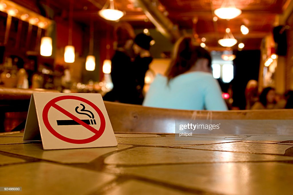 No Smoking on these premises : Stock Photo