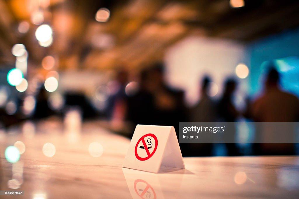 禁煙のサイン : ストックフォト