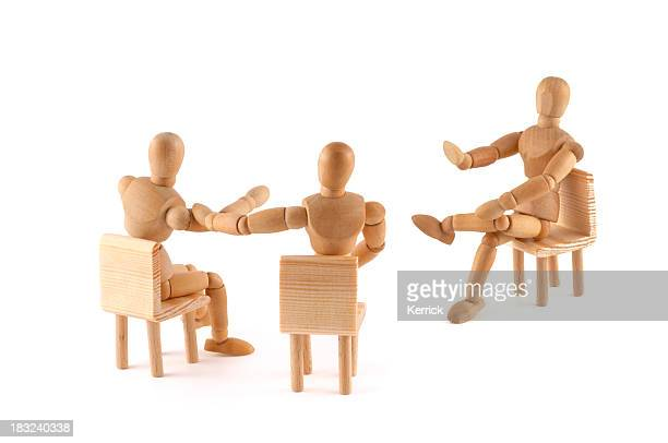 No! This argument is not correct -wooden mannequins in discussion