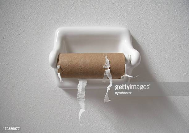 no toilet paper - finishing stock pictures, royalty-free photos & images