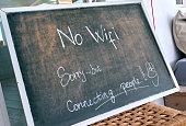 No Wi Fi sign