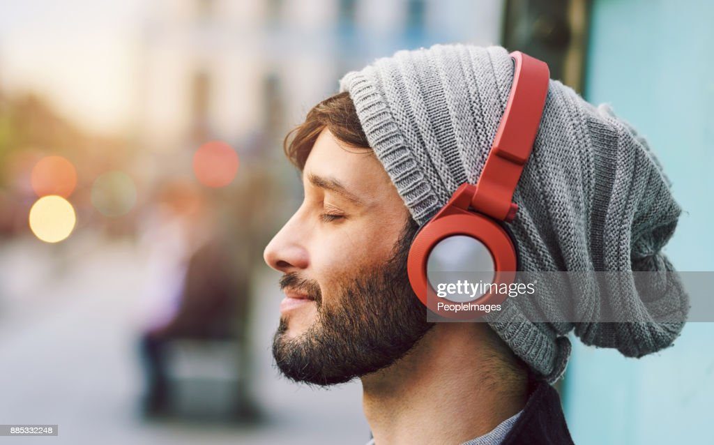 No words needed, just music : Stock Photo