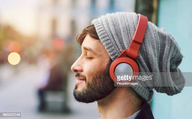 no words needed, just music - listening stock pictures, royalty-free photos & images