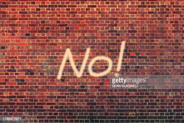 no written on wall - exclusion stock pictures, royalty-free photos & images