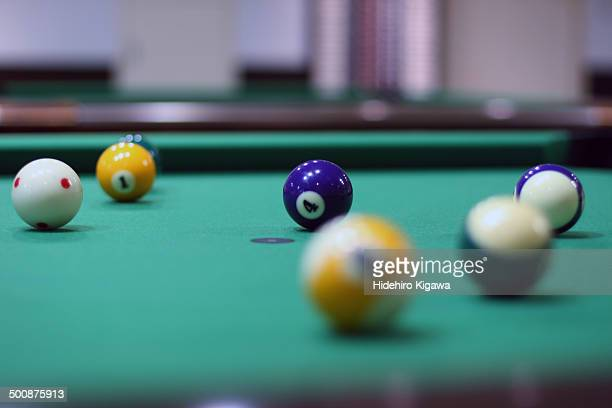 No.4 on the pool table