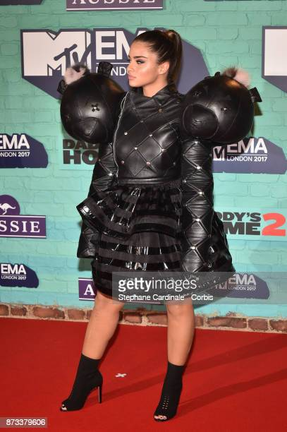 Noa Kirel attends the MTV EMAs 2017 at The SSE Arena Wembley on November 12 2017 in London England