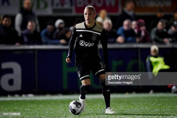 Noa Lang of Ajax during the Dutch KNVB Beker match between Te Werve v Ajax on September 26 2018