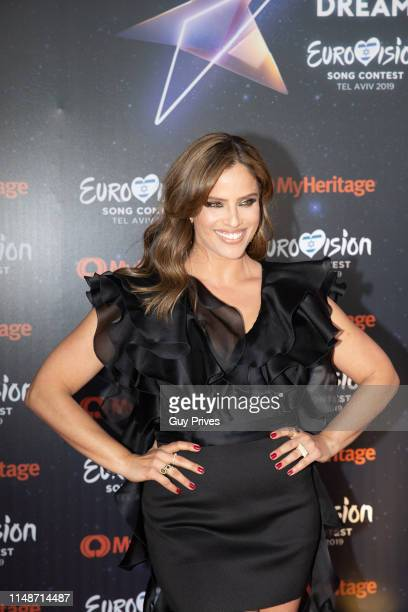 Noa Tishby at the 64th Eurovision Song Contest held at Tel Aviv Fairgrounds on May 12 2019 in Tel Aviv Israel