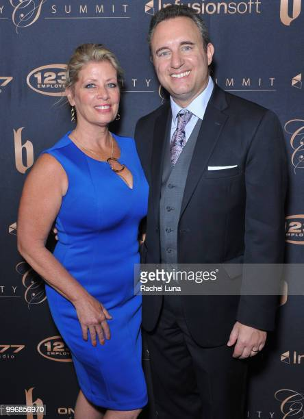 Noah and Babette St John of NoahStJohncom attend City Summit Wealth Mastery And Mindset Edition afterparty at Allure Banquet Catering on July 11 2018...