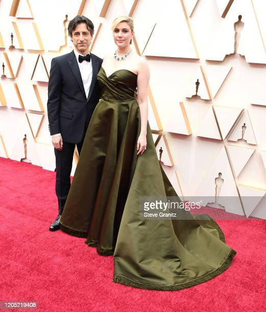 Noah Baumbach and Greta Gerwig arrives at the 92nd Annual Academy Awards at Hollywood and Highland on February 09 2020 in Hollywood California