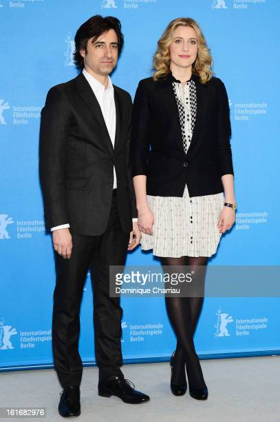 Noah Baumbach and Greta Gerwig attend the 'Frances Ha' Photocall during the 63rd Berlinale International Film Festival at the Grand Hyatt Hotel on...
