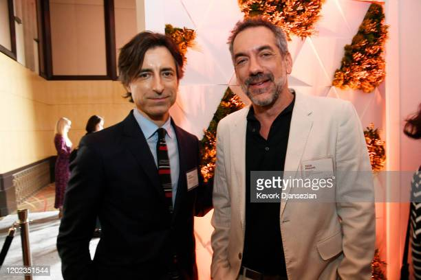 Noah Baumbach and Todd Phillips attend the 92nd Oscars Nominees Luncheon on January 27, 2020 in Hollywood, California.