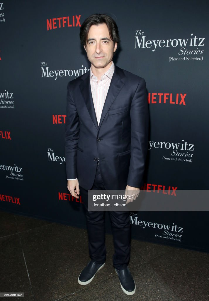 Noah Baumbach at a special screening of The Meyerowitz Stories (New And Selected) at DGA Theater on October 11, 2017 in Los Angeles, California.