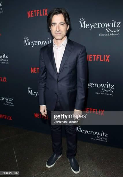 Noah Baumbach at a special screening of The Meyerowitz Stories at DGA Theater on October 11 2017 in Los Angeles California