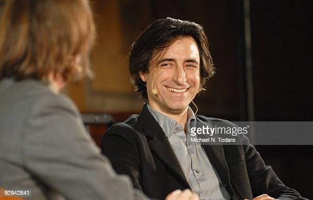 Noah Baumbach attends Live From The NYPL at The New York Public Library on November 9 2009 in New York City
