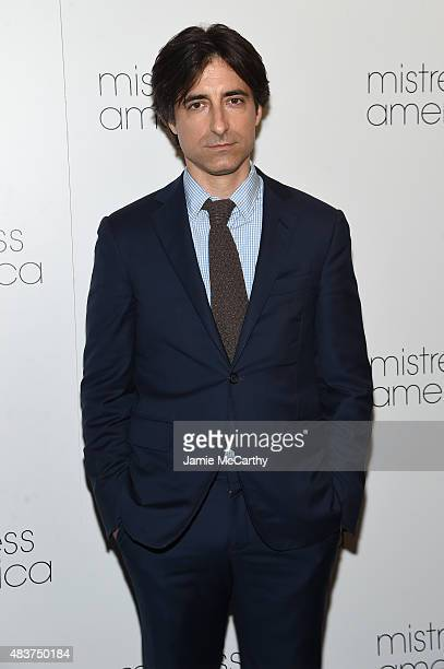 Noah Baumbach attends the 'Mistress America' New York Premiere at Landmark Sunshine Cinema on August 12 2015 in New York City