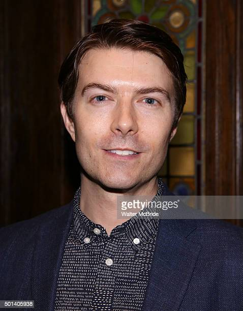Noah Bean attends the opening night after party for the Playwrights Horizons New York premiere production of 'Marjorie Prime' at Tir Na Nog Irish Pub...