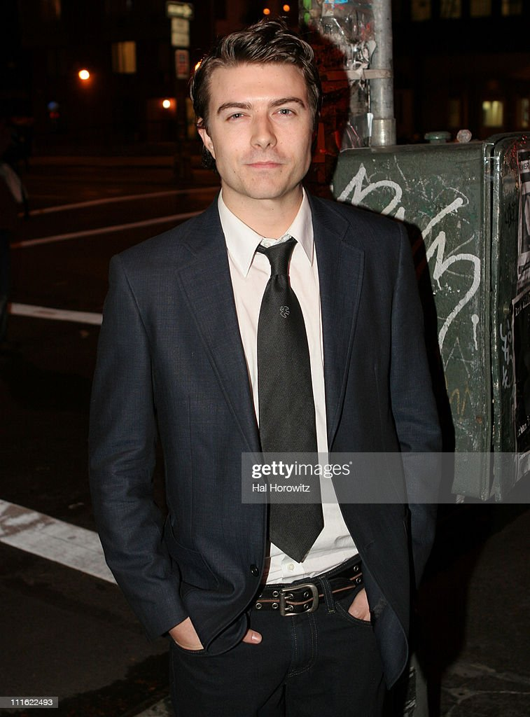 Noah Bean during 'The Voyage Of The Carcass' - Opening Night Party at Mannahattah in New York City, New York, United States.