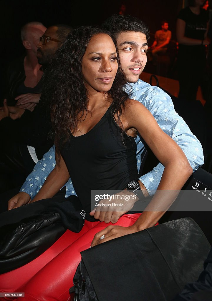 Noah Becker and Barbara Becker attend the Michalsky Style Nite after party during the Mercedes-Benz Fashion Week at Tempodrom on January 18, 2013 in Berlin, Germany.