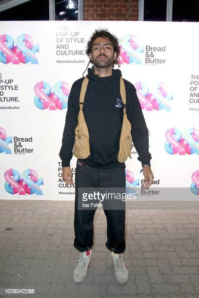 Noah Becker at the Zalando Fashion Show during Bread&&Butter by Zalando at Arena Berlin on September 1, 2018 in Berlin, Germany.