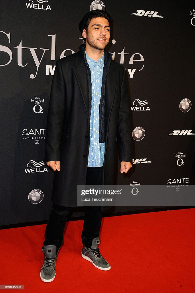 Noah Becker attends Michalsky Style Nite Arrivals - Mercedes-Benz Fashion Week Autumn/Winter 2013/14 at Tempodrom on January 18, 2013 in Berlin, Germany.