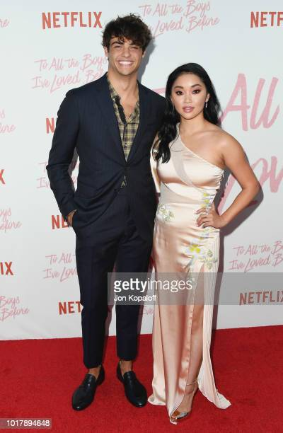 Noah Centineo and Lana Condor attend the screening of Netflix's To All The Boys I've Loved Before at Arclight Cinemas Culver City on August 16 2018...