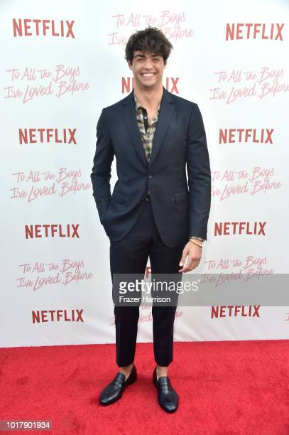 Noah Centineo attend the Screening Of Netflix's 'To All The Boys I've Loved Before' Arrivals at Arclight Cinemas Culver City on August 16 2018 in...