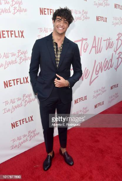 Noah Centineo attends a screening of Netflix's To All The Boys I've Loved Before at Arclight Cinemas Culver City on August 16 2018 in Culver City...