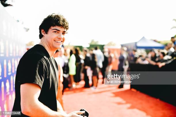 Noah Centineo attends the 2019 MTV Movie and TV Awards Noah Centineo at Barker Hangar on June 15 2019 in Santa Monica California