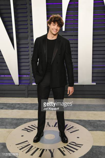 Noah Centineo attends the 2019 Vanity Fair Oscar Party hosted by Radhika Jones at Wallis Annenberg Center for the Performing Arts on February 24 2019...