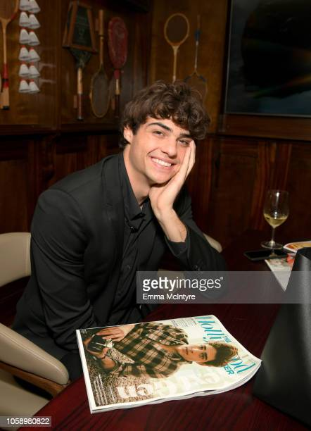 Noah Centineo attends The Hollywood Reporter's Next Gen 2018 Celebration at 40 LOVE on November 7 2018 in Los Angeles California