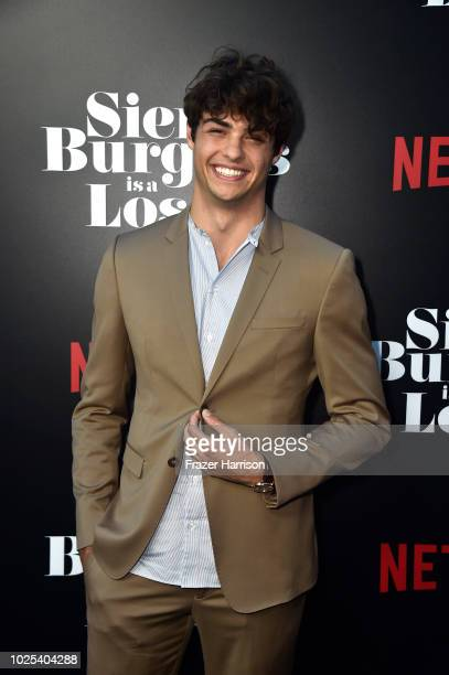 Noah Centineo attends the Premiere Of Netflix's Sierra Burgess Is A Loser at ArcLight Hollywood on August 30 2018 in Hollywood California