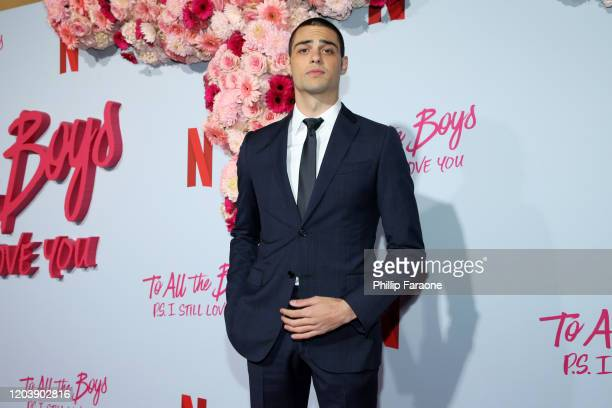 Noah Centineo attends the premiere of Netflix's To All The Boys PS I Still Love You at the Egyptian Theatre on February 03 2020 in Hollywood...