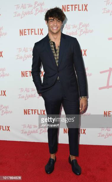 Noah Centineo attends the screening of Netflix's To All The Boys I've Loved Before at Arclight Cinemas Culver City on August 16 2018 in Culver City...