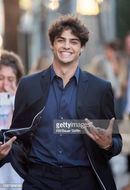Noah Centineo is seen 'Jimmy Kimmel Live' on September 21 2018 in Los Angeles California