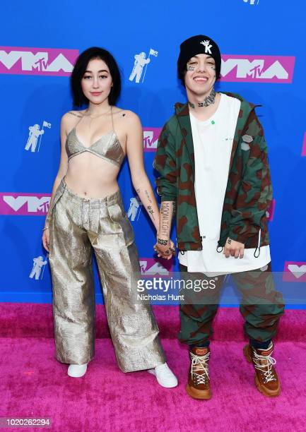Noah Cyrus and Lil Xan attend the 2018 MTV Video Music Awards at Radio City Music Hall on August 20 2018 in New York City