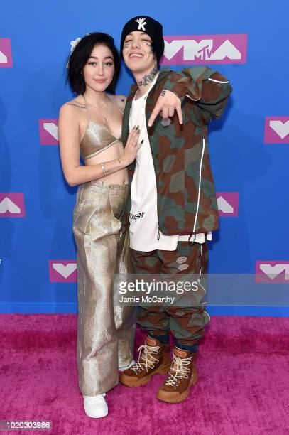 Noah Cyrus and Lil Xan attends the 2018 MTV Video Music Awards at Radio City Music Hall on August 20 2018 in New York City