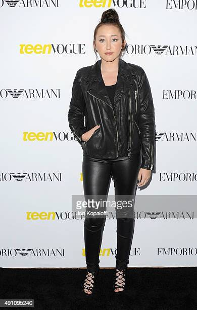 Noah Cyrus arrives at Teen Vogue's 13th Annual Young Hollywood Issue Launch Party on October 2 2015 in Los Angeles California
