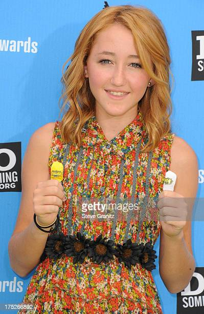 Noah Cyrus arrives at the 2013 Do Something Awards at Avalon on July 31 2013 in Hollywood California