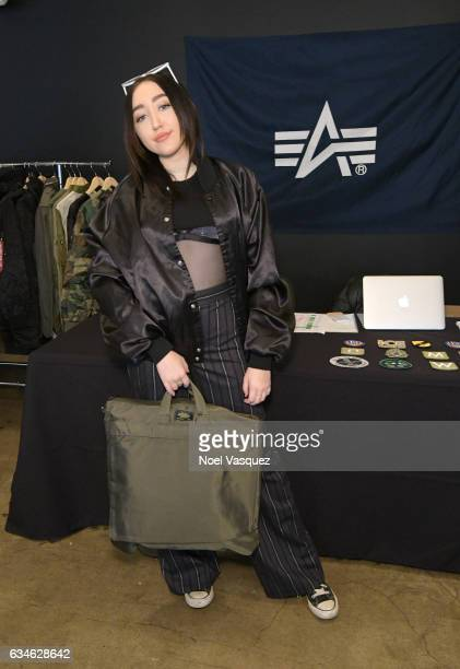 Noah Cyrus attends Music is Universal Lounge presented by Variety and Citi at Ace Hotel on February 10 2017 in Los Angeles California