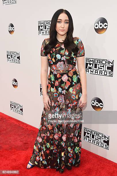 Noah Cyrus attends the 2016 American Music Awards at Microsoft Theater on November 20 2016 in Los Angeles California